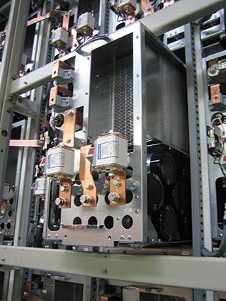 Выкатная ячейка высоковольтного преобразователя частоты MVe2