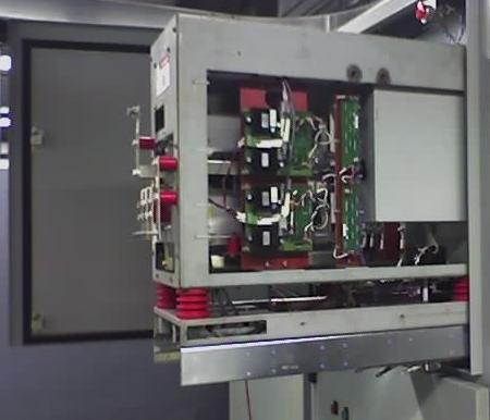 Выкатная ячейка преобразователя частоты T300MVi