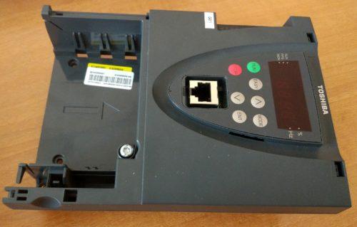 Неисправный блок управления ПЧ Toshiba PS1
