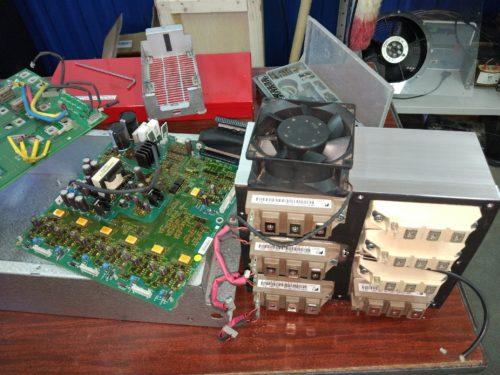 Сервисное обслуживание ПЧ Toshiba / Schneider Electric