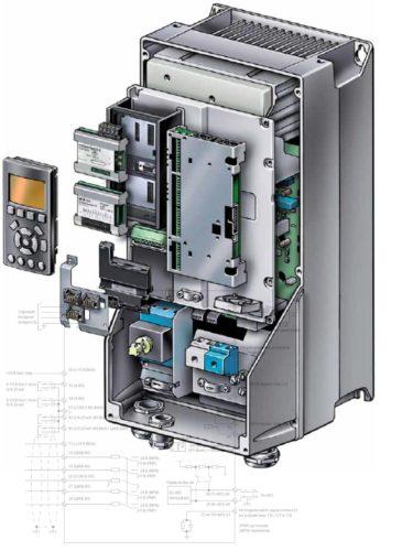 Ремонт частотника VLT Danfoss