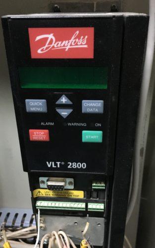Диагностика ПЧ Danfoss VLT