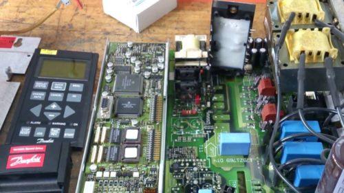 Сервисное обслуживание частотника Danfoss