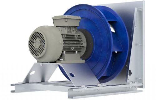 Канальный вентилятор управляемый преобразователем частоты