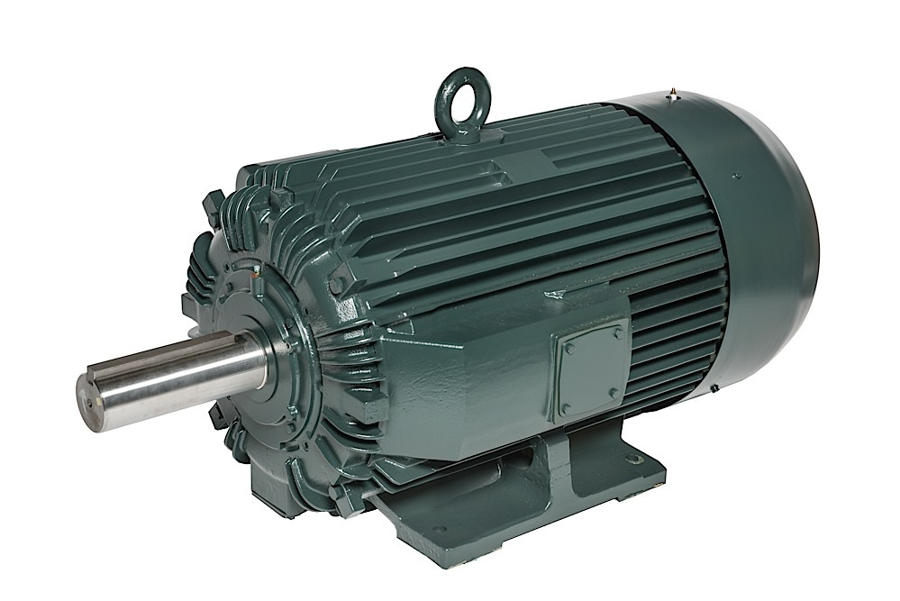 Трехфазные электродвигатели IP55 Toshiba до 444 кВт с полностью закрытым вентилятором Quarry Duty для карьеров и перерабатывающих машин
