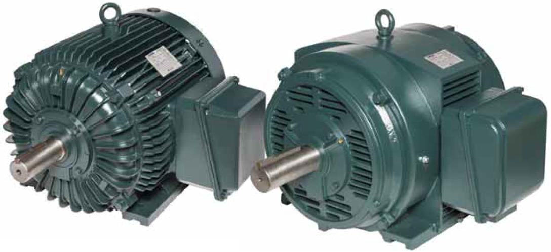 Трехфазные электродвигатели Toshiba каплезащищенные IP22 и с полностью закрытым вентиляторомIP55 Tosh-ECO™ Oil Well Pump для нефтегазовой промышленности
