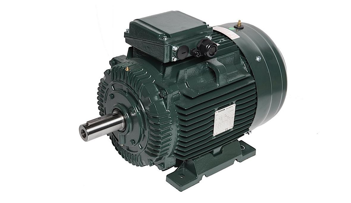 Электромоторы с постоянными магнитами Toshiba с полностью закрытым вентилятором и верхней коробкой клемм TEFC Tosh-ECO™ IEC Motors