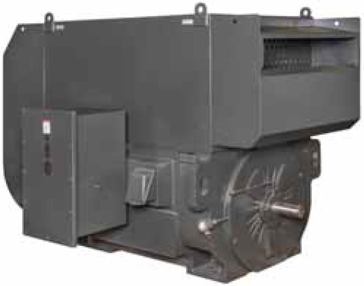 Высоковольтные электродвигатели Toshiba с воздухо-воздушным теплообменником IP54 / IP55 и обогревом Totally Enclosed Air-Air Cooled (TEAAC)