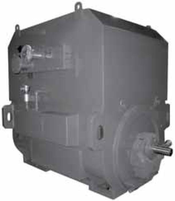 Высоковольтные электродвигатели Toshiba с водо-воздушным теплообменником IP54 и обогревом Totally Enclosed Water-Air Cooled (TEWAC)