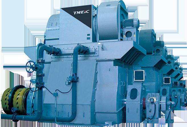 Высоковольтные синхронные электродвигатели по индивидуальному проекту Main Drive Motor TMEIC