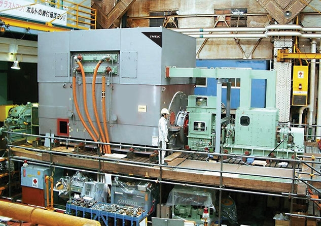 Высоковольтные синхронные электродвигатели средней и большой мощности по индивидуальному проекту Medium High Power TMEIC