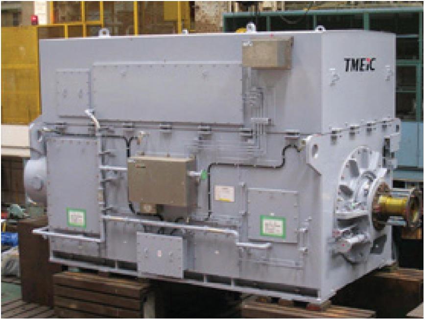 Высоковольтные синхронные высокоскоростные электродвигатели по индивидуальному проекту High Speed TMEIC