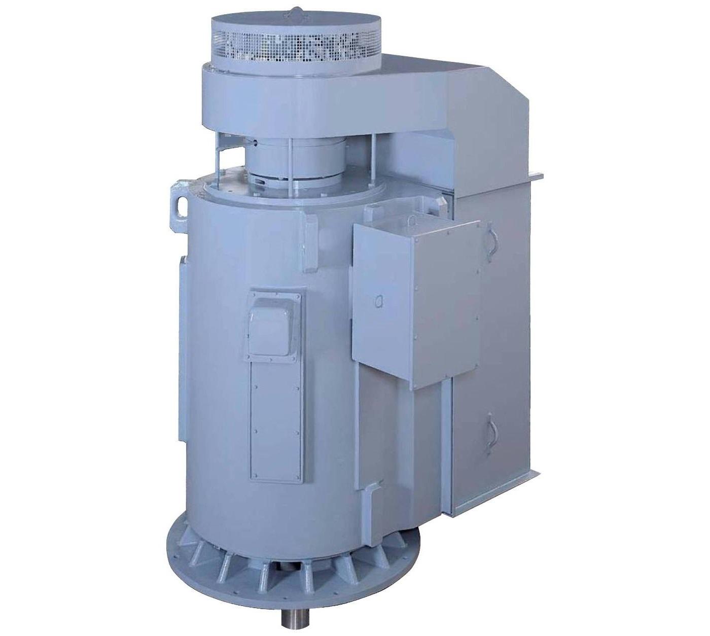 Высоковольтный электродвигатель вертикальной установки 21-FII TMEIC (Toshiba+Mitsubishi Electric)